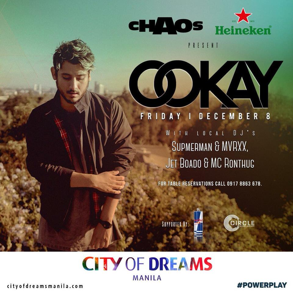 Ookay at Chaos Manila