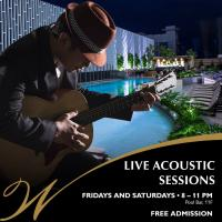 ACOUSTIC SESSION AT POOL BAR WINDFORD HOTEL