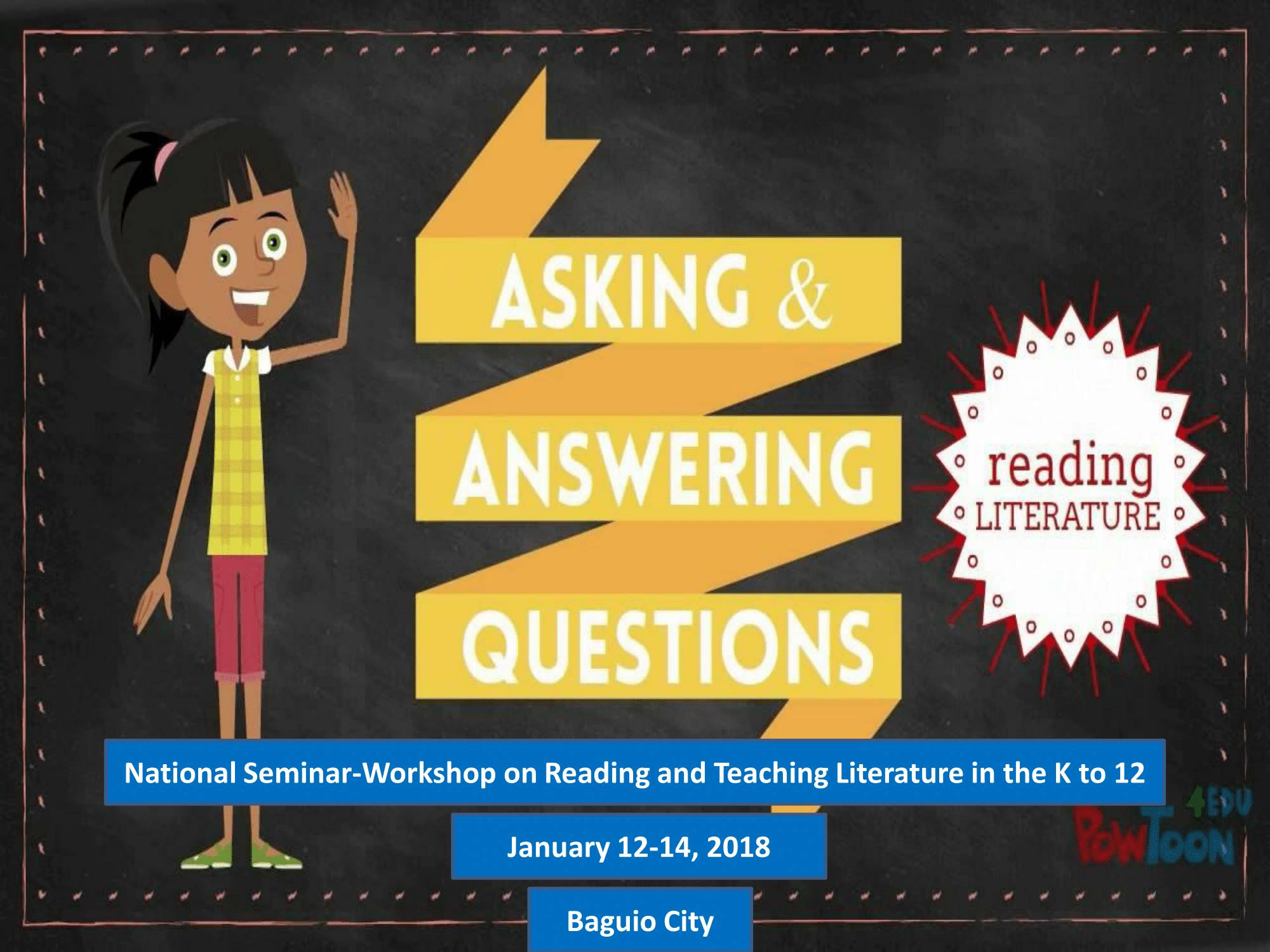 National Seminar-Workshop on Reading And Teaching Literature