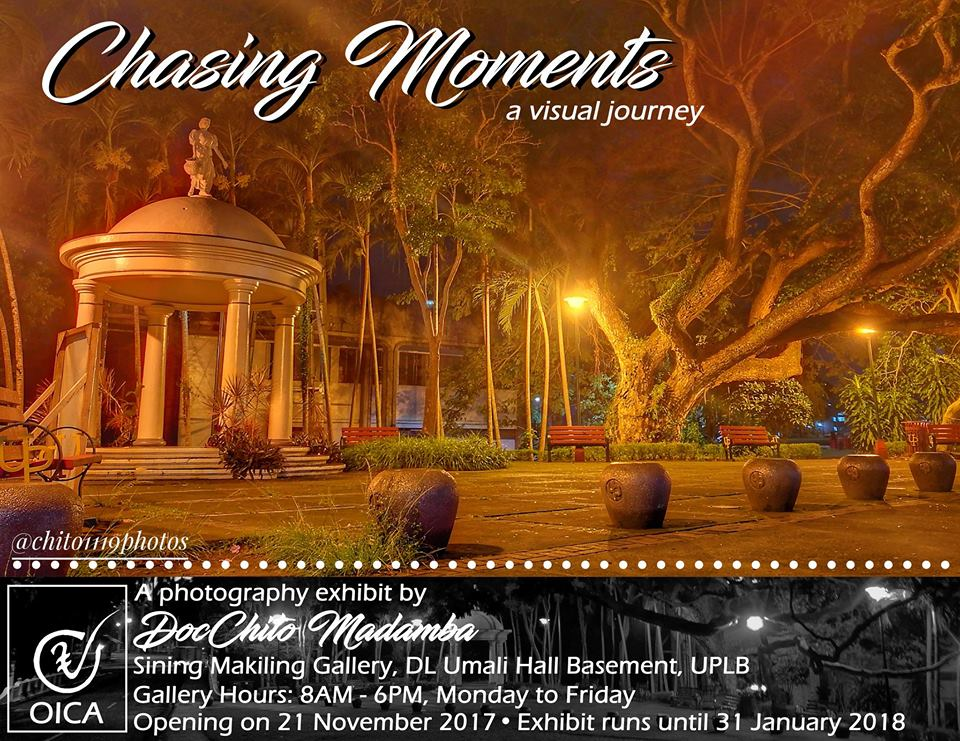 Chasing Moments: A photography exhibit by DocChito Madamba