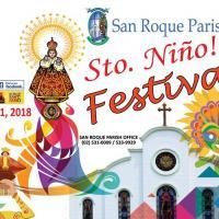 San Roque Parish de Mandaluyong, Sto Niño Festival 2018