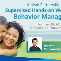 Supervised Hands-on Workshop: Behavior Management