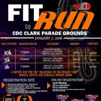 FIT TO RUN 2018 - Luzon (CDC Clark)