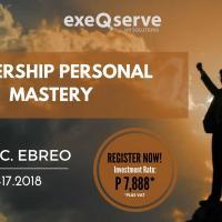 Leadership Personal Mastery Public Seminar