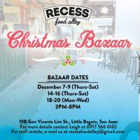 Recess Mini-Christmas Bazaar
