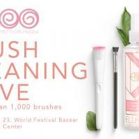 Ellana X PGM Brush Cleaning Drive in World Bazaar Festival