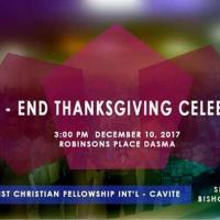 Year End Thanksgiving Celebration