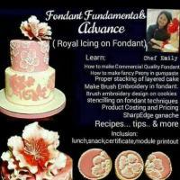 EMF Advance Workshop (Royal Icing on Fondant)