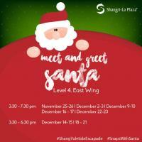 Meet & Greet Santa @ shang