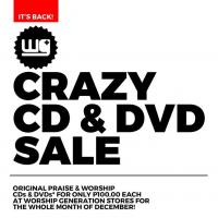 Crazy CD & DVD Sale