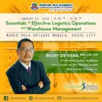 4th Essentials of Effective Logistics Operations  and Warehouse Management