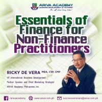 Essentials of Finance for Non-Finance Practitioners