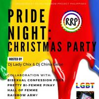 PRIDE NIGHT - CHRISTMAS PARTY AT CABIN 420 BAR & BISTRO