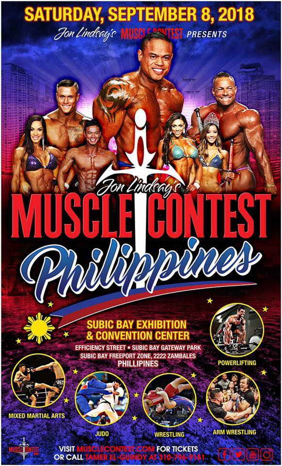 Musclecontest Philippines Fitness Convention 2018