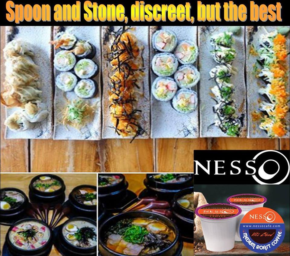 The right place to eat good food, talk and drink NESSO coffee