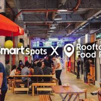 Smart Spots at Rooftop Food Park