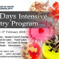 24 days Intensive Pastry Program