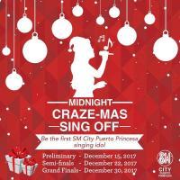 Midnight CRAZE-MAS Sing Off!