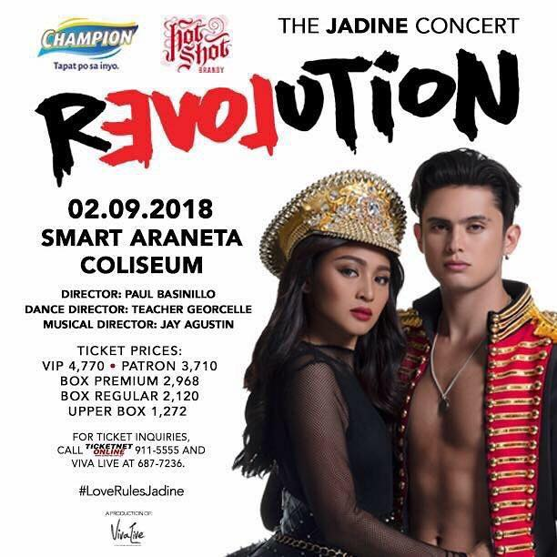 Revolution : The Jadine Concert