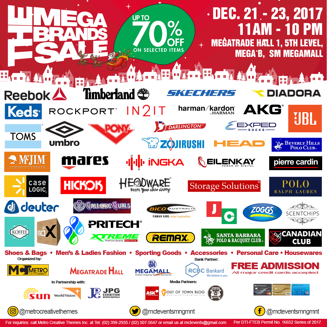 21st Megabrands Christmas Sale at Megatrade Hall