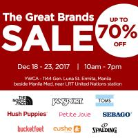 Striptop Outlet Store Holds 7th The Great Brands Sale At YWCA Gym