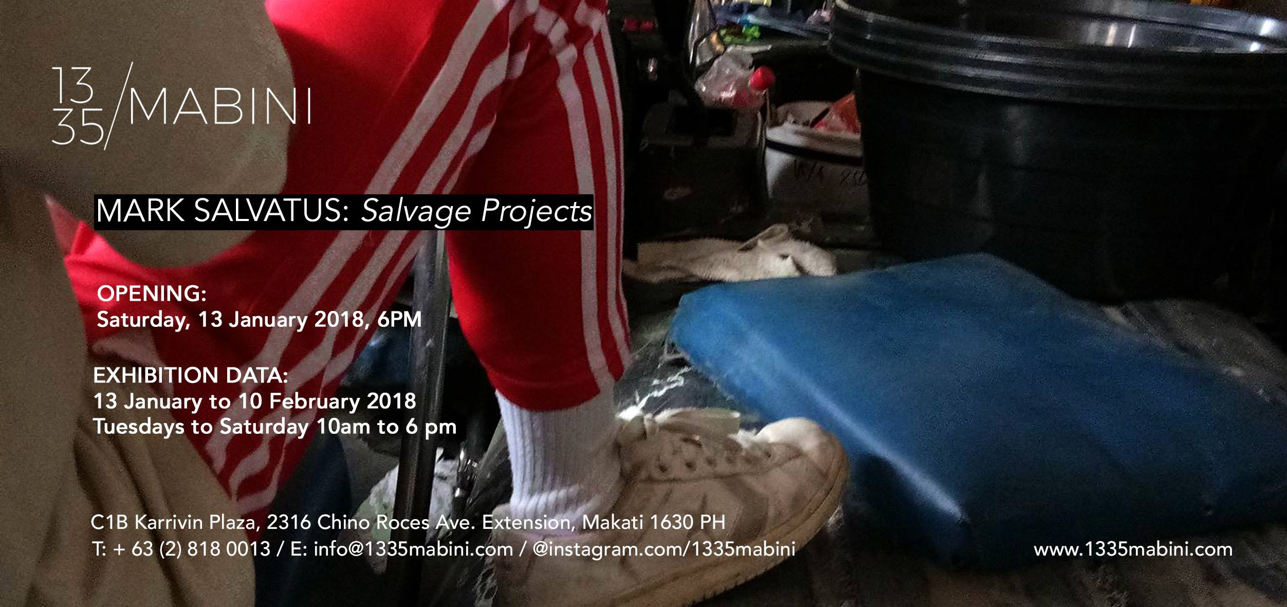 1335mabini/Mark Salvatus: Salvage Projects