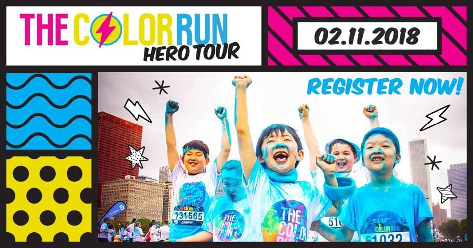 The Color Run Hero Tour