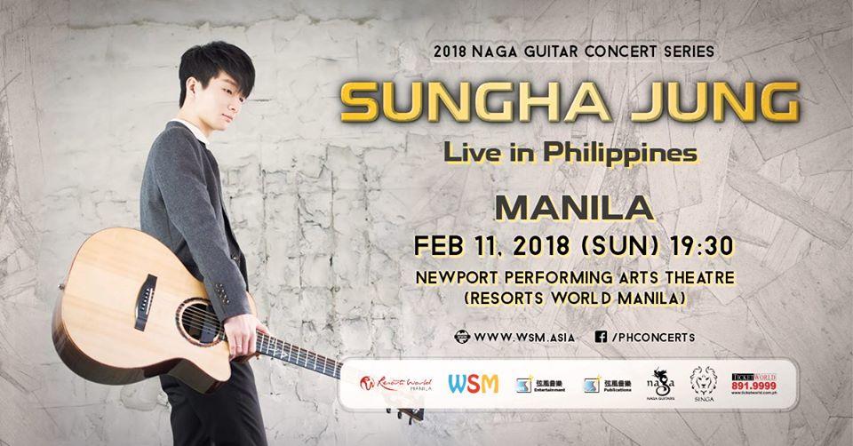 Sungha Jung Live in Manila 2018