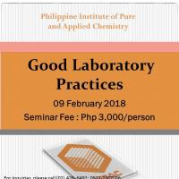 Good Laboratory Practice Seminar
