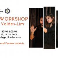 Actor's Workshop with Ana Valdes-Lim