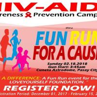 HIV AIDS Awareness & Prevention FUN RUN for A CAUSE