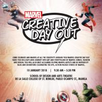 Join Marvel Creative Day Out on January 10!