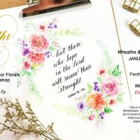 Wreaths & Verses Workshop