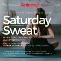 Saturday Sweat: Vinyasa Yoga