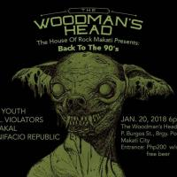 "THE HOUSE OF ROCK MAKATI BACK TO THE 90""S AT THE WOODMAN'S HEAD"