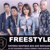 FREESTYLE AT HISTORIA BOUTIQUE BAR AND RESTAURANT