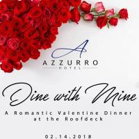 Dine with Mine ( A Romantic Valentine Dinner at the Roofdeck