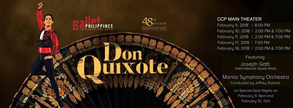 DON QUIXOTE Ballet Philippines 48th Season: QUINTESSENCE