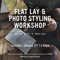 Flat Lay and Photo Styling Workshop