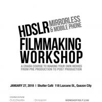 HDSLR, Mirror less & Mobile Phone Film Making Workshop