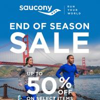 Saucony End of Season Sale
