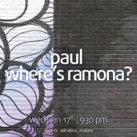 ALTERNATIVE WEDNESDAY WITH WHERE'S RAMONA? AND PAUL AT THE MINOKAUA