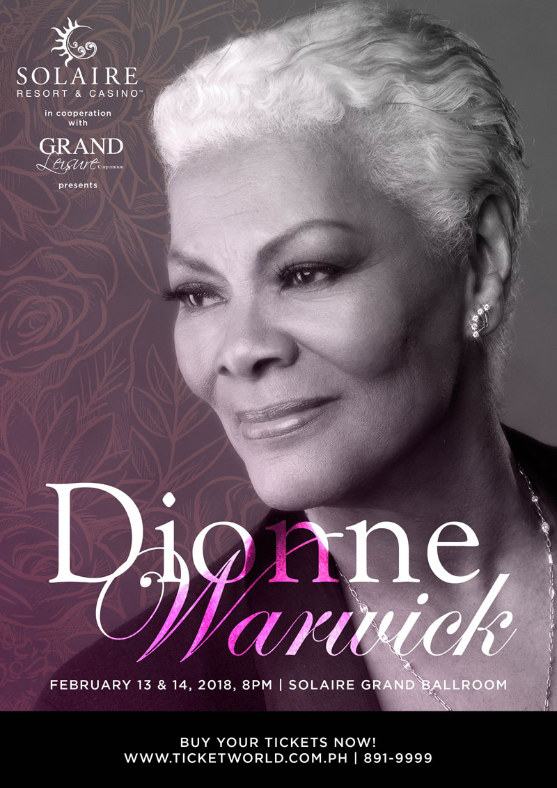 Dionne Warwick  Live At Solaire Grand Ballroom