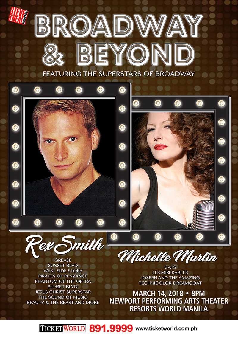 BROADWAY & BEYOND Rex Smith and Michelle Murlin