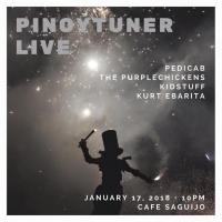 PINOYTUNER LIVE AT SAGUIJO CAFE + BAR EVENTS