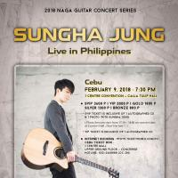 SUNGHA JUNG Live in Philippines 2018 - CEBU