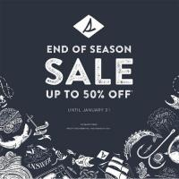 SPERRY'S END OF SEASON SALE