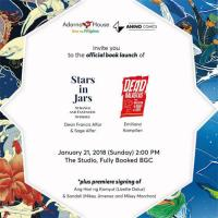Dead Balagtas Tomo 1 at Stars in a Jar book launch