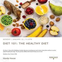 Diet 101: The Healthy Diet