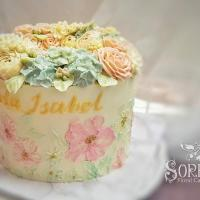 Palette Painting , Calligraphy & Flower Buttercream Class